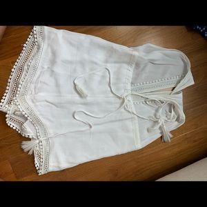 Nasty Gal Pants & Jumpsuits - White romper